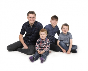 Jack, Luke, George and Billy