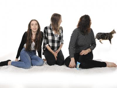 Natasha, Tigger and girls