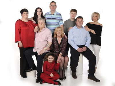 Maureen Chapman and family