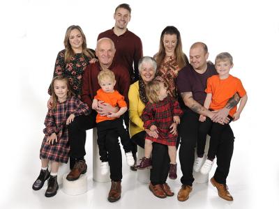 Daniel Green & family